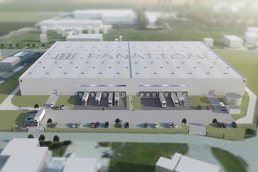 Neubau einer Logistikhalle