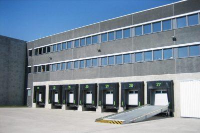 Halle im Logistikpark München Nord