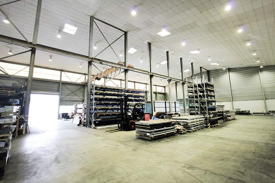 Produktions- und Lagerhalle in Garching
