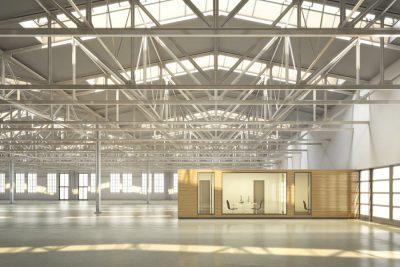 Industriehalle München West