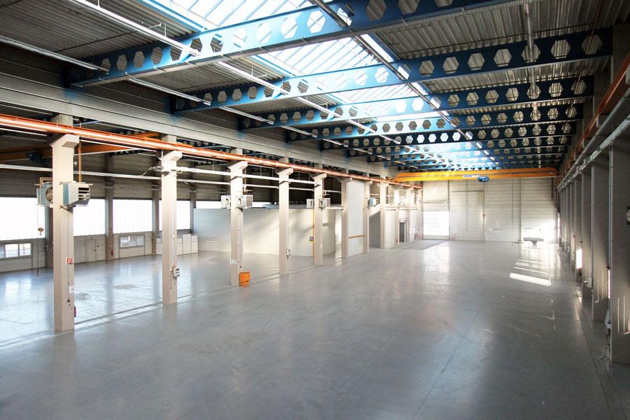 Werkhalle mit 900kVA Stromanschluss