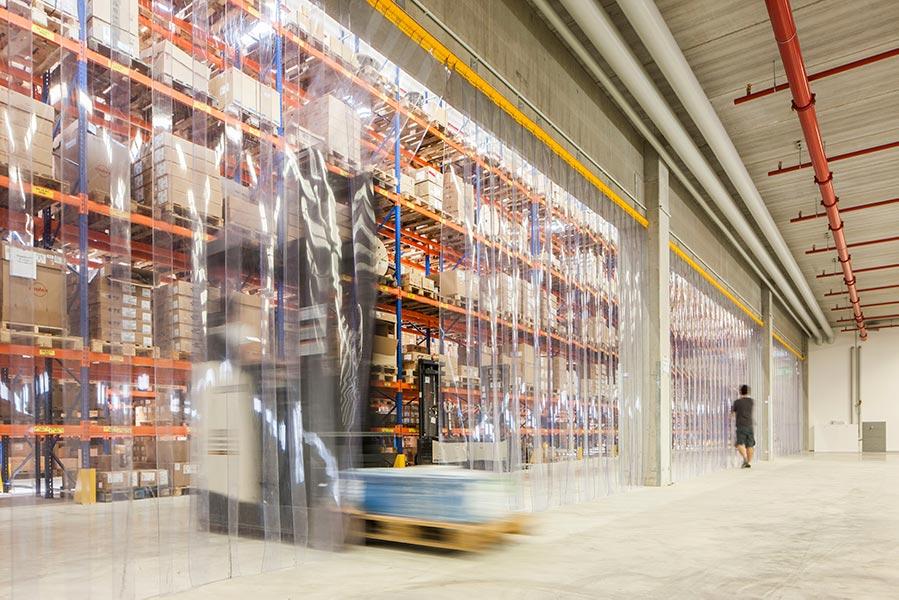 Logistikzentrum am Flughafen München