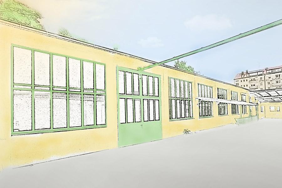 Maxvorstadt – einzigartige Werkstatt mit Industriecharme
