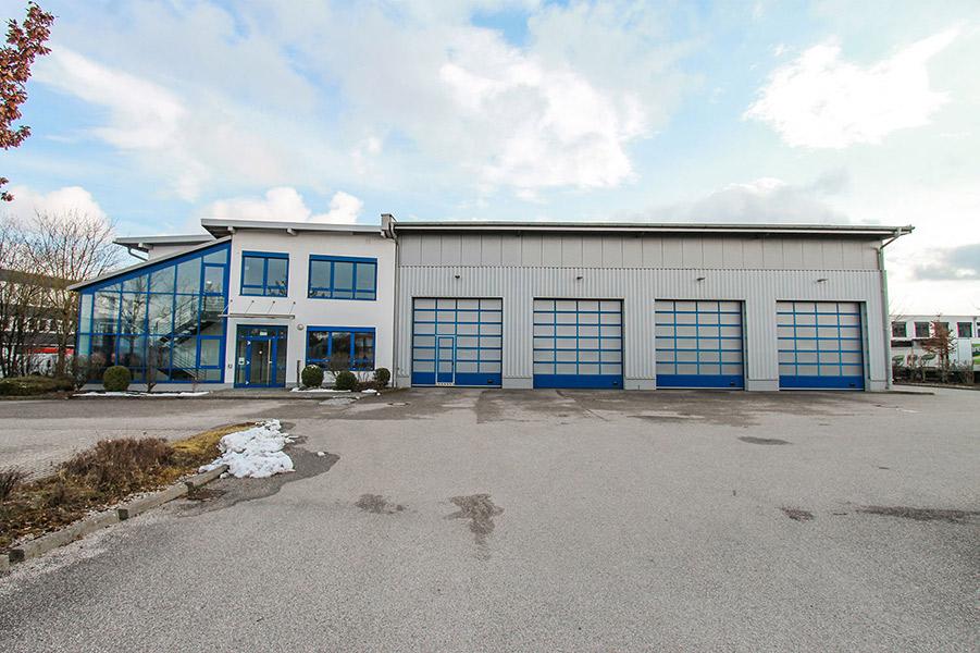 Solitärobjekt – Halle, Büro, Freifläche